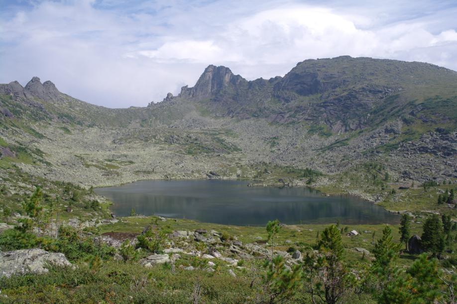 Фото, Ергаки, озеро Радужное
