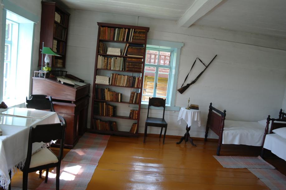 Шушенское, музей под открытым небом, комната Ленина