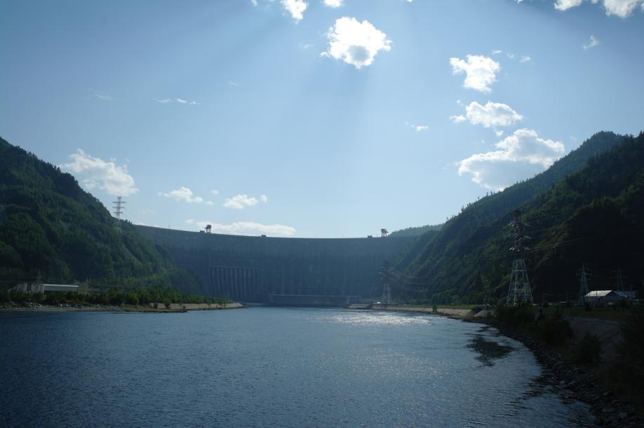 Фото Саяно-Шушенская ГЭС