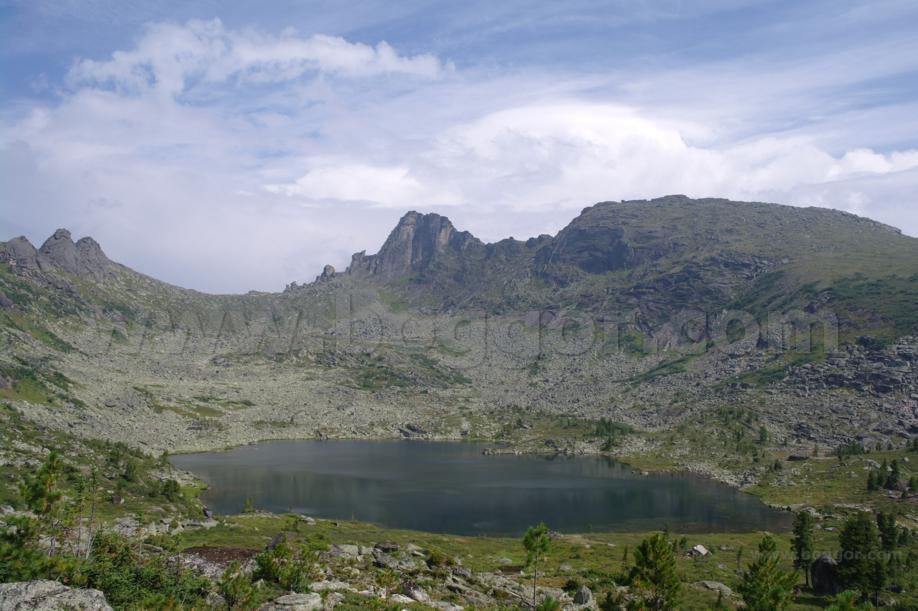 Ергаки, озеро Радужное, фото