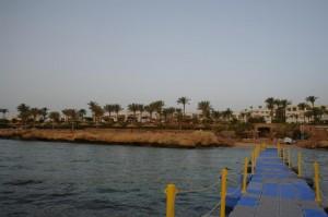 Фото пляж, вид с понтона, Renaissance Sharm El Sheikh Golden View Beach Resort